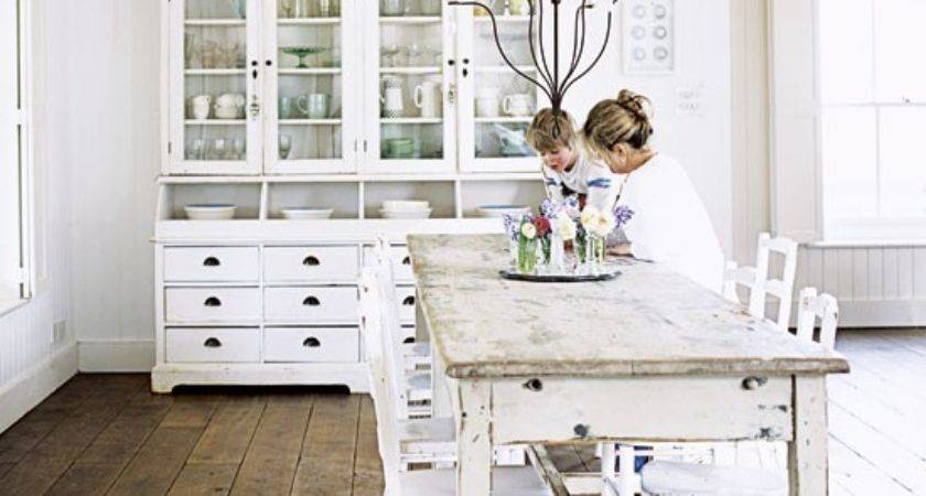 Mix Chic Home Tour All White Shabby Country