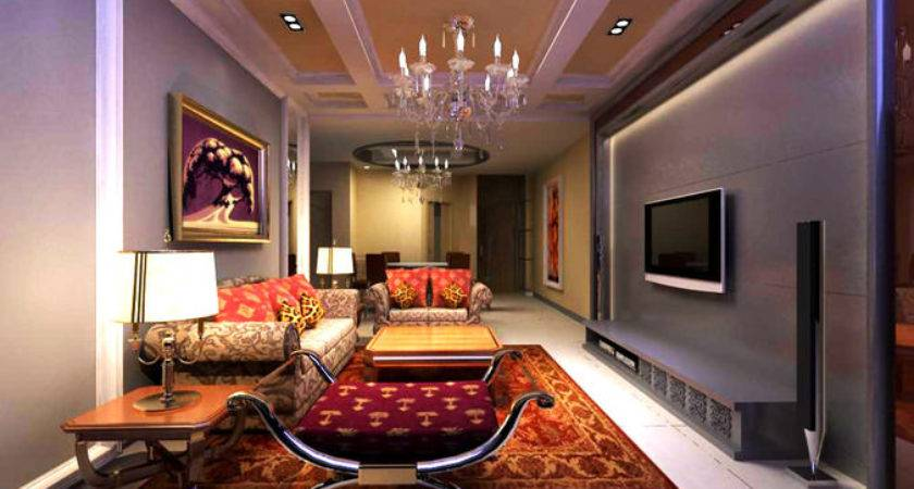 Model Elegant Living Space Cgtrader
