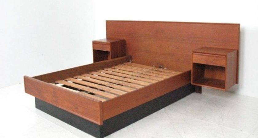 Modern Bedframes Floating Bed Frame