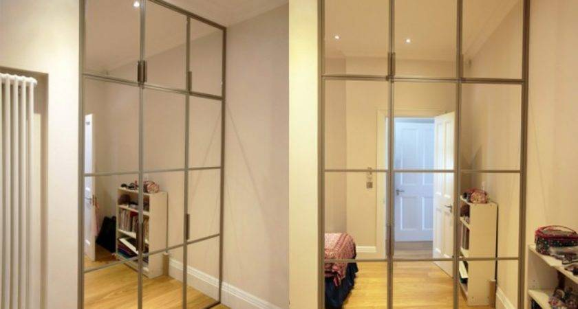 Modern Built Mirrored Wardrobe Bespoke Furniture