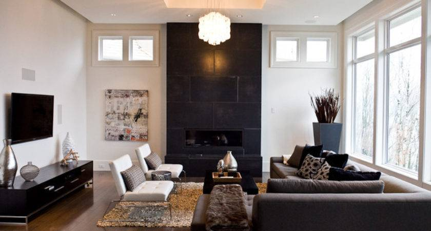 Modern Classic Living Room Vancouver