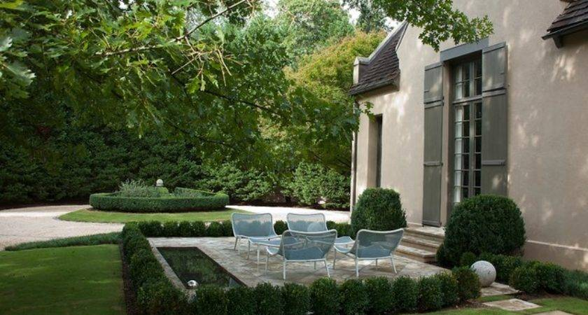 Modern French Country Patio Birmingham