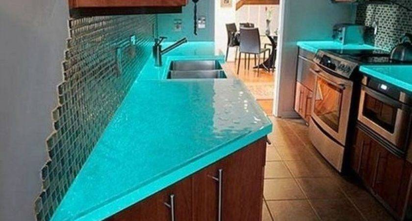 Modern Glass Kitchen Countertop Ideas Latest Trends
