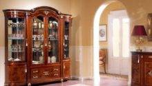 Modern Glass Living Room Cupboards Design