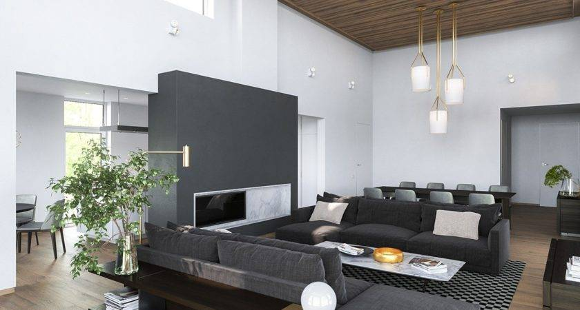 Modern Homes Many Shades Gray
