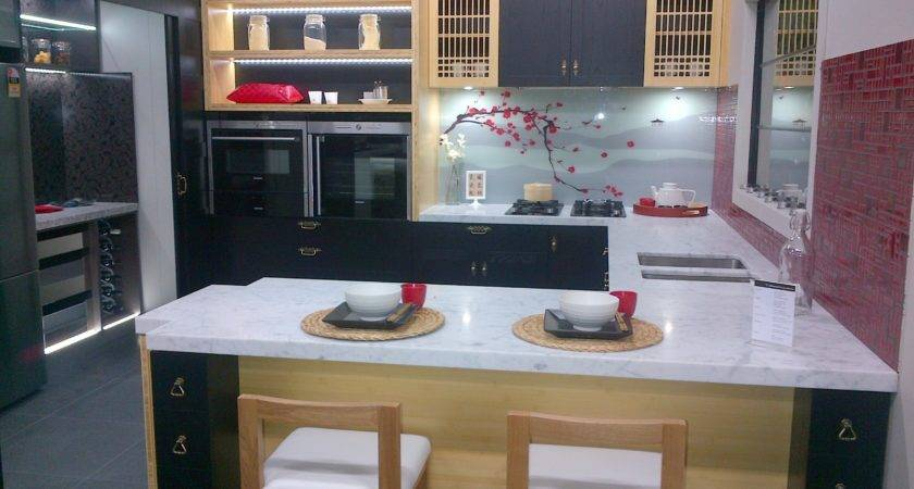 Modern Japanese Kitchen Given Touch European Style