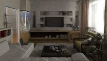 Modern Living Room Bachelor Pad Ideas
