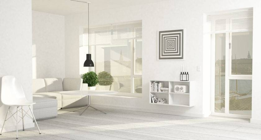 Modern Living Room Interior Model