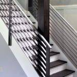 Modern Metal Stair Railings Interior Stairs Design Ideas