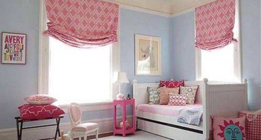 Modern Pink Blue Bedroom Decorations Ideas
