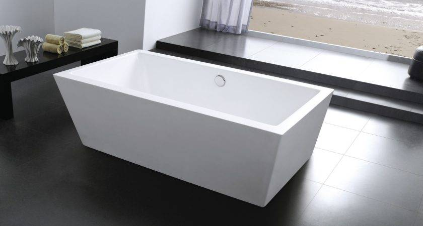 Modern Stand Alone Bathtubs Inch