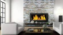 Modern Stone Fireplace Mantels Design Ideas