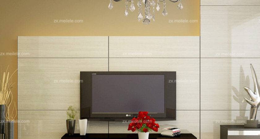 Modern Style Living Room Ceiling Backdrop Decoration