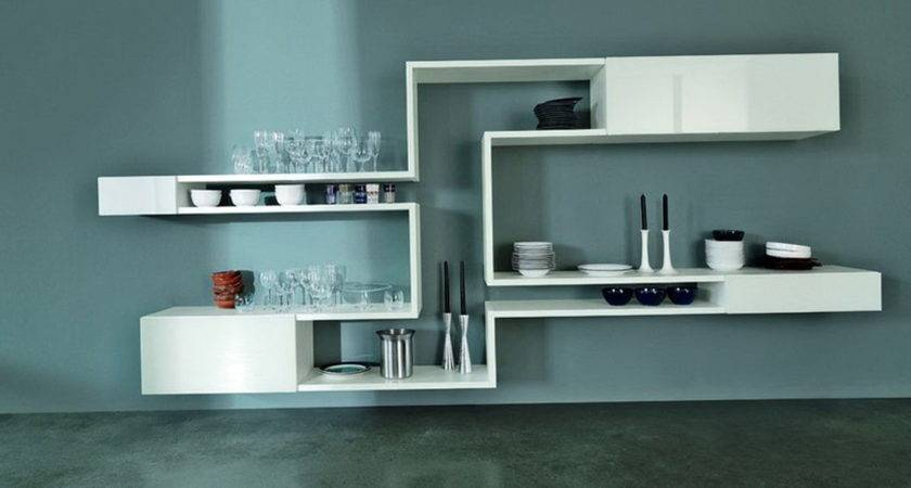 Modern Wall Shelves Design Home Ideas