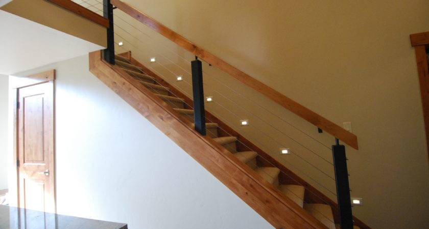 Modern Wood Stair Railing Imgkid