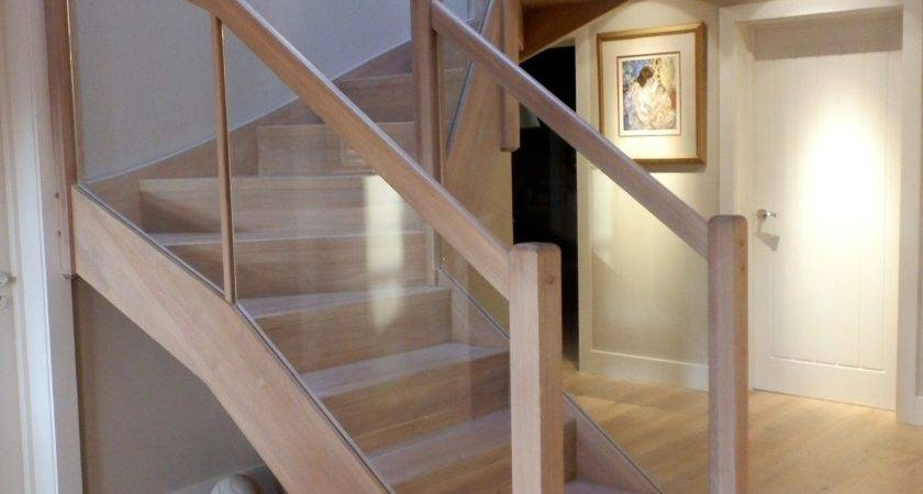 Modern Wooden Staircase Braishfield Hampshiretimber