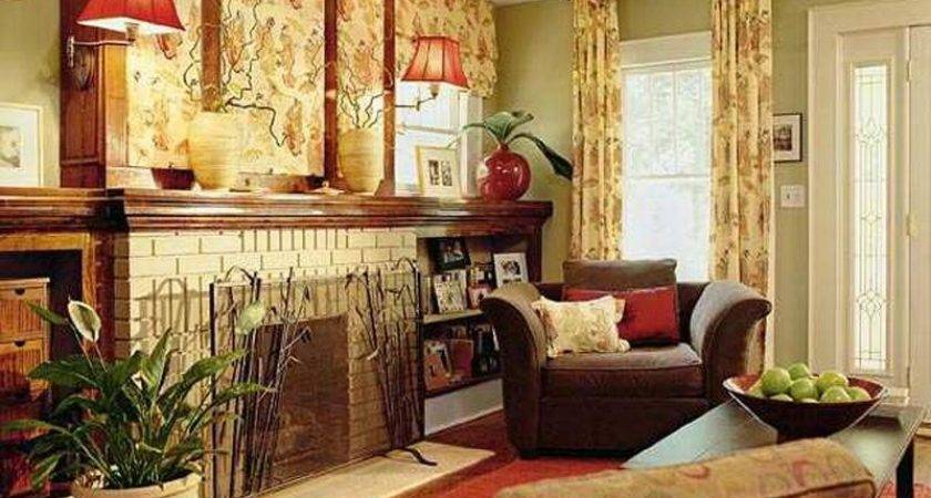 Modern Yellow Red Living Room Color Schemes Home
