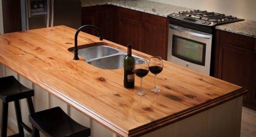 More Green Home Ideas Love Reclaimed Wood Countertops
