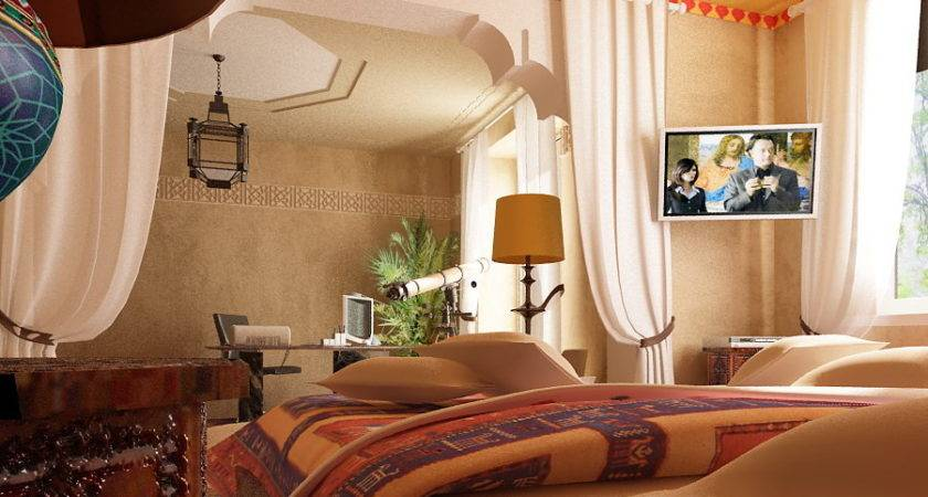 Moroccan Bedroom Decorating Ideas Arabian Style