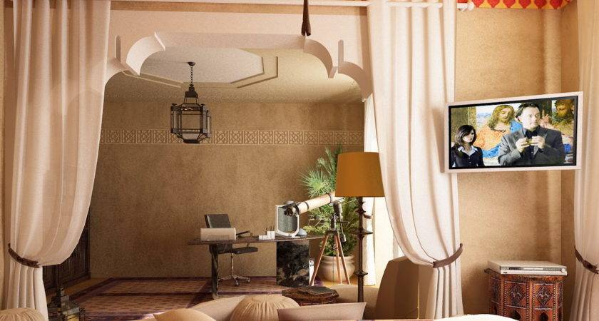 Moroccan Themed Bedroom Decorating Ideas