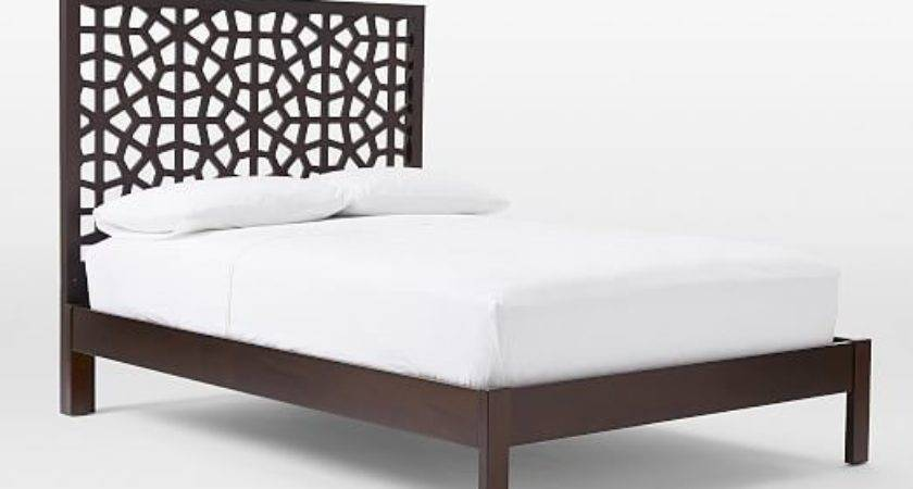 Morocco Bed Chocolate West Elm
