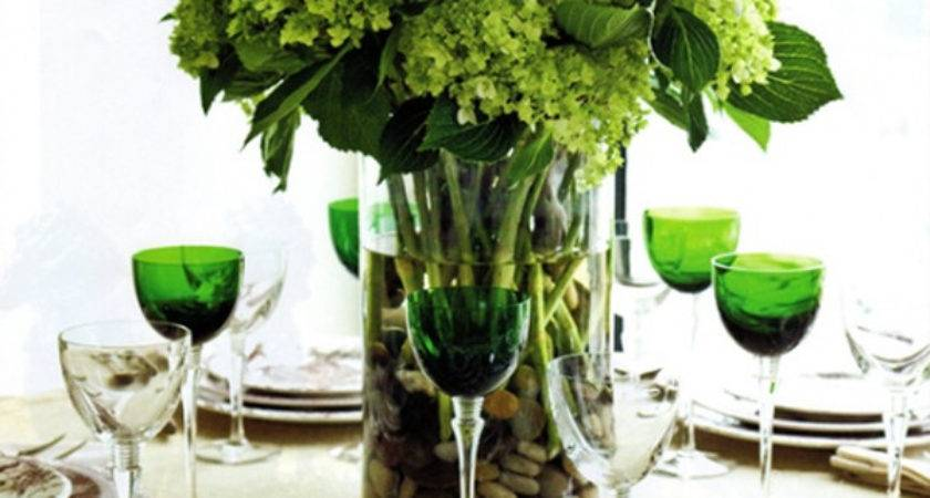 Most Amazing Green Christmas Table Settings