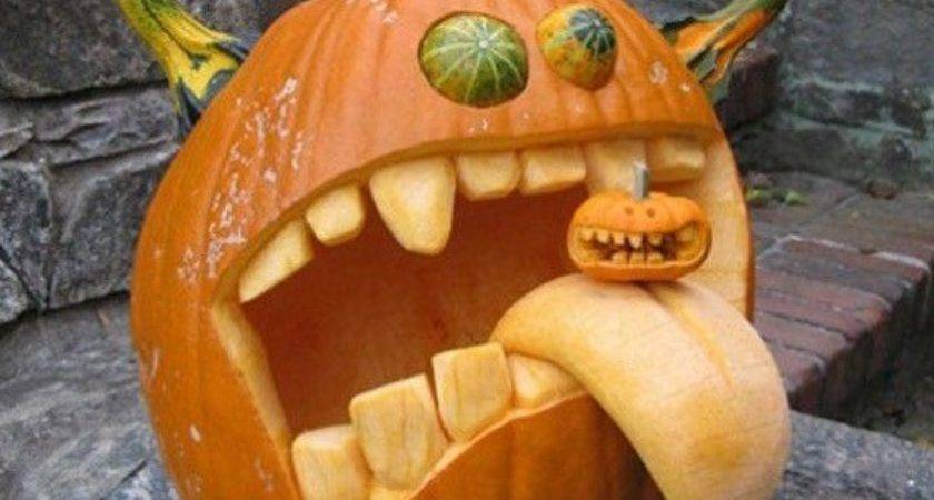 Most Creative Pumpkin Carvings Ever Therackup