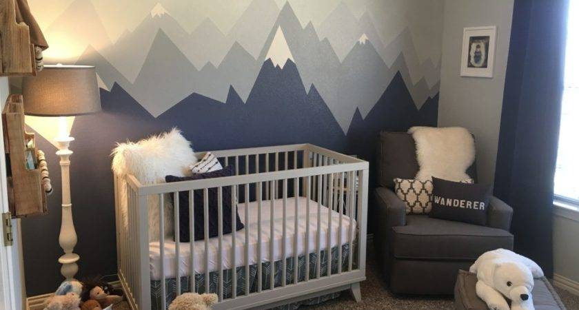 Mountain Nursery Decor Project