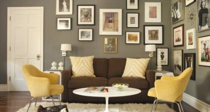 Mustard Chocolate Covered Rooms Ideas Inspiration