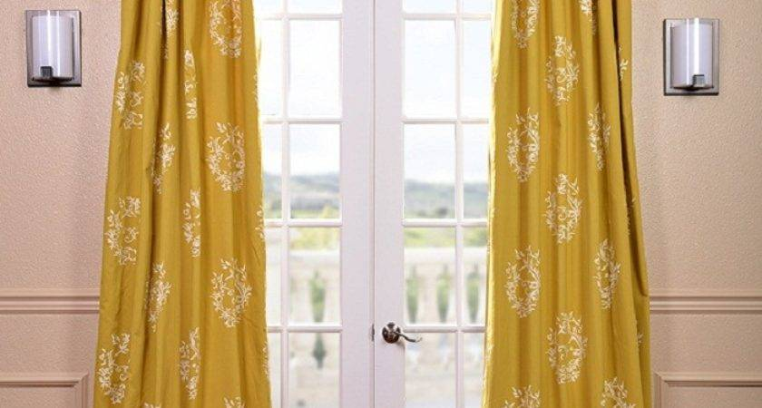 Mustard Colored Curtains Inspiration Yellow