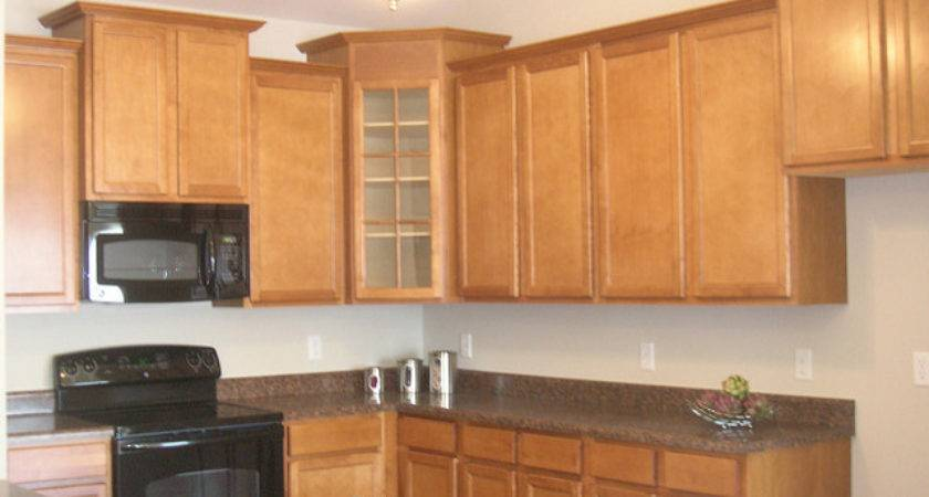 Napa Staggered Cabinet Kitchen Flickr Sharing