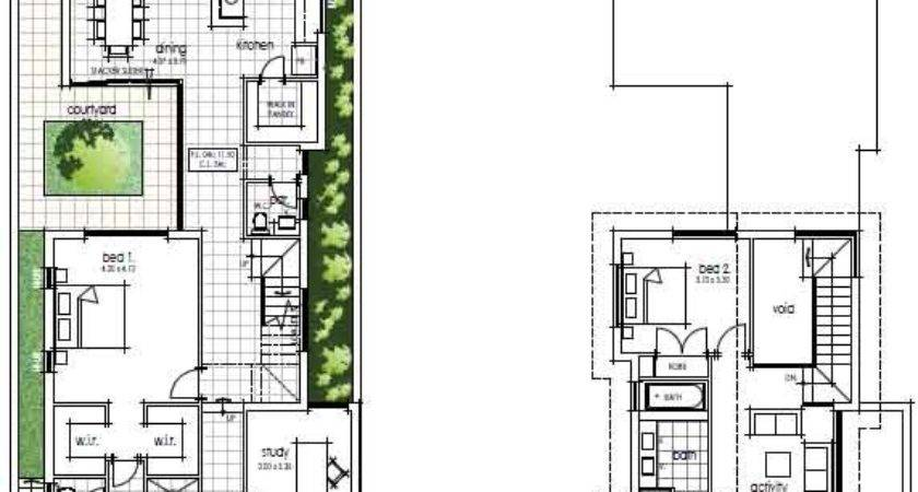 Narrow House Plans New Dining Room Painting