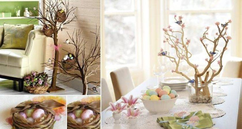Natural Decor Easter Decorating Ideas