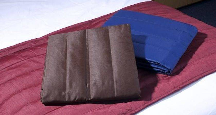 New Bed Runner Cushion Cover Faux Silk Various