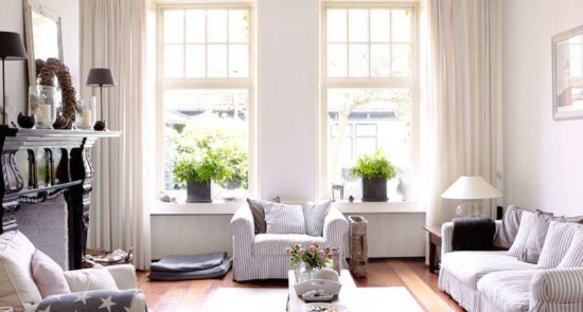 New England Style Living Room Country Homes Interiors