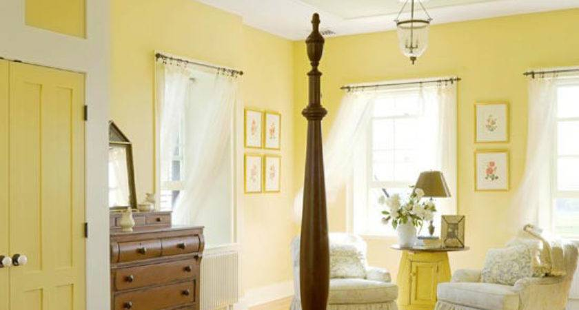 New Home Interior Design Yellow Bedrooms Love