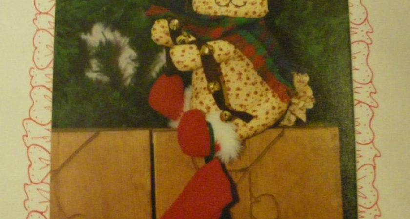 New Primitive Sewing Pattern Long Rudolph Reindeer