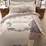 Next Paris French Vintage Style Double Duvet Cover Bedding