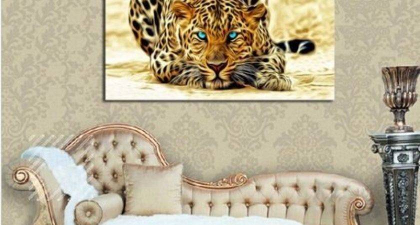 Not Framed Canvas Print Home Decor Art Leopard Cheetah