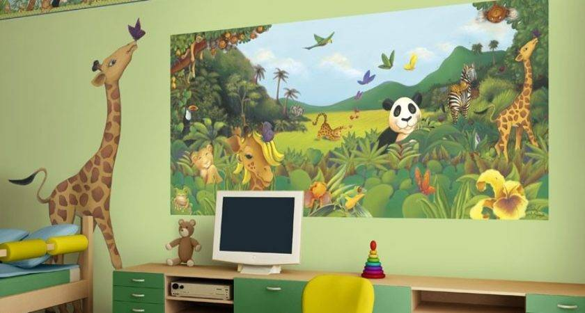 Nursery Decor Colorful Kids Rooms