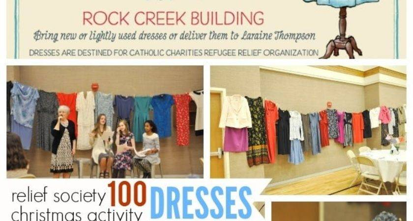 One Hundred Dresses Relief Society Activity Your