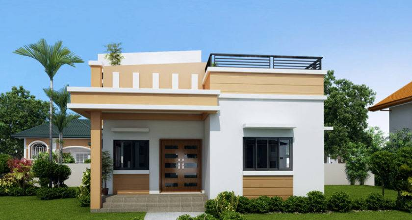 One Storey House Roof Deck