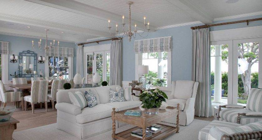 Open Concept Beach House Interior Design Ideas