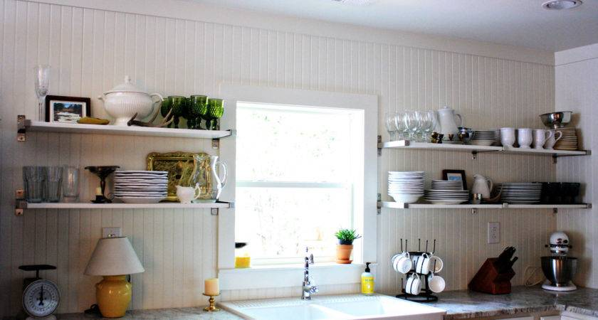 Open Shelving Kitchen Some Updates