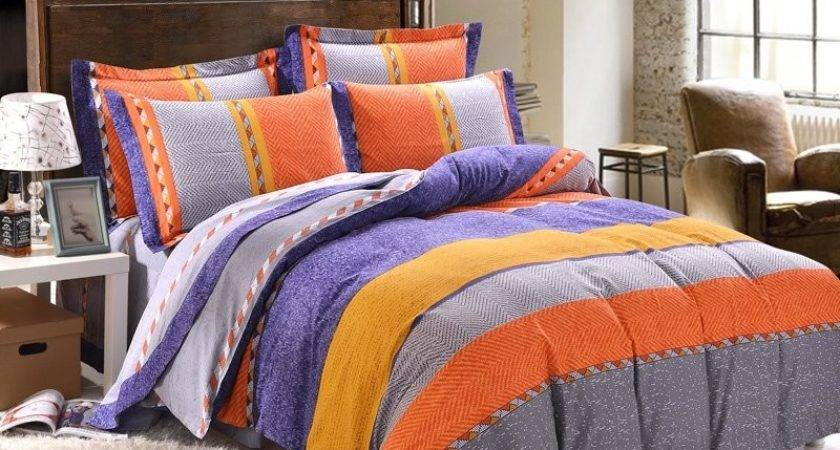 Orange Bedding Sets Covers Lostcoastshuttle Set