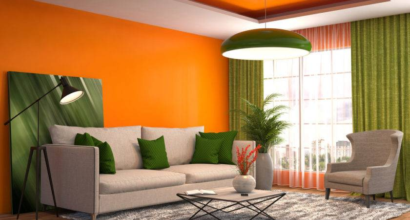 Orange Living Room Ideas Currentyear
