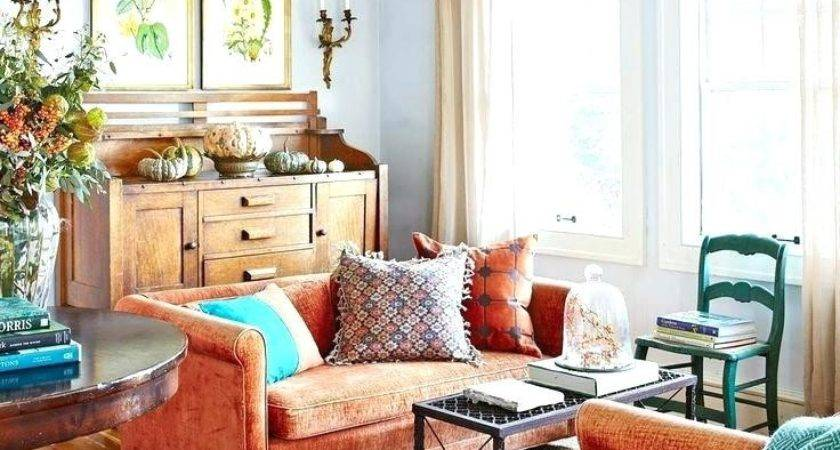 Orange Teal Home Decor Decorating Ideas