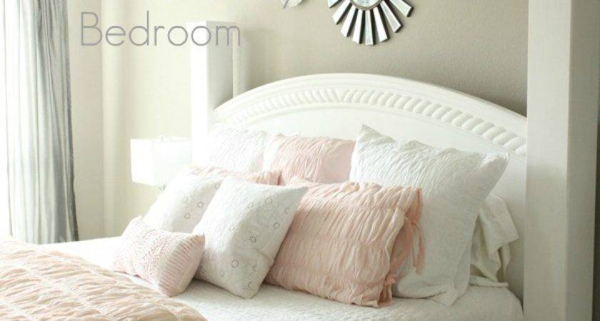 Our New White Pink Grey Bedroom Decorchick