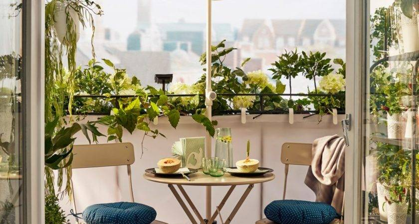 Outdoor Garden Furniture Ideas Ikea Small Balcony