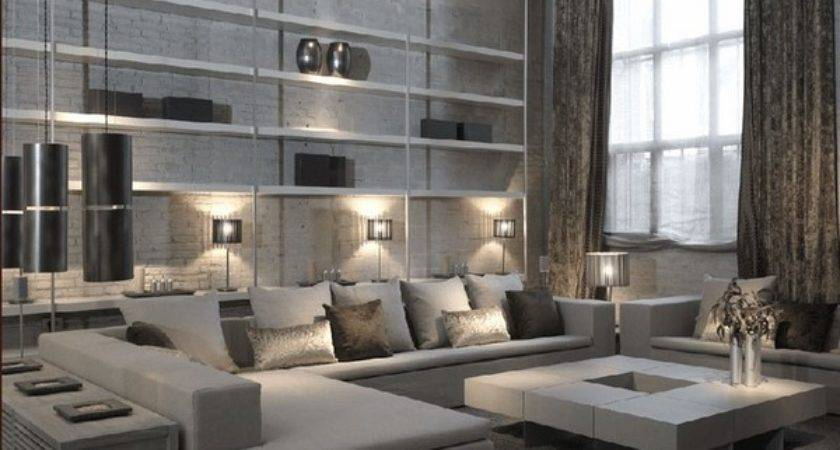 Outstanding Gray Living Room Designs Modern Interior